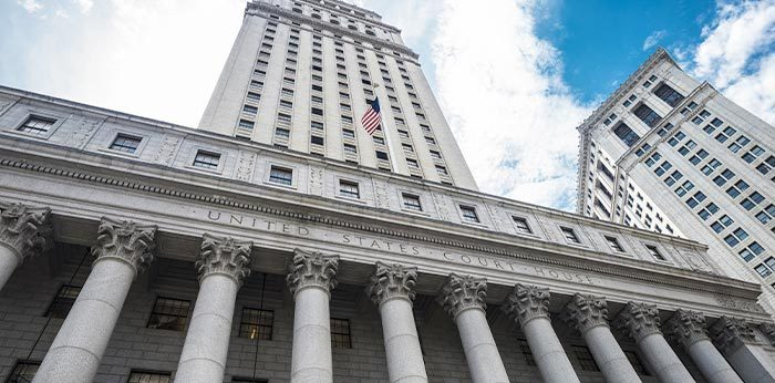 Photo of NYC Courthouse